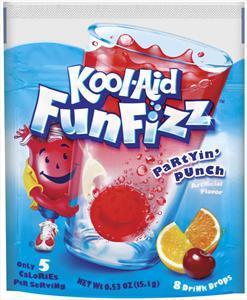 Kool-aid Funfizz Fruit Punch Drops