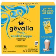 Gevalia Vanilla Frappe Specialty Coffee Beverage Mix