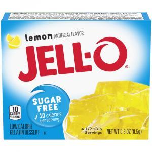 Jell-O Sugar Free Lemon Gelatin
