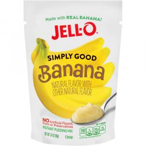 Jell-o Simply Good Banana Instant Pudding Mix