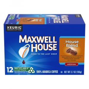 Maxwell House House Blend Single Serve Coffee Cups