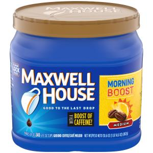 Maxwell House Morning Boost Medium Coffee