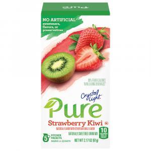 Crystal Light Pure Strawberry Kiwi Drink Mix