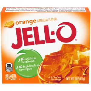Jell-O Orange Gelatin