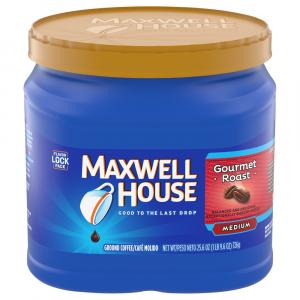 Maxwell House Gourmet Roast Medium Can