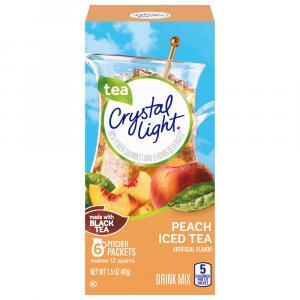 Crystal Light Peach Tea Drink Mix