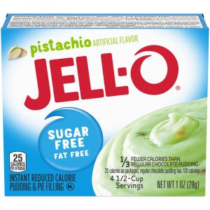 Jell-O Sugar Free Instant Pistachio Pudding Mix