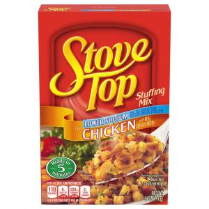 Stove Top Lower Sodium Chicken Stuffing Mix