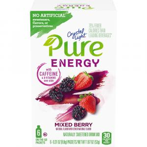 Crystal Light Pure Energy Mixed Berry Drink Mix