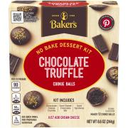 Baker's Chocolate Truffle Cookie Ball