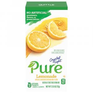 Crystal Light Pure Lemonade Sweetened Drink Mix