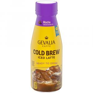 Gevalia Kaffe Ready to Drink Cold Brew Mocha Iced Latte