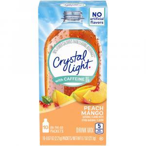 Crystal Light On The Go Peach Mango