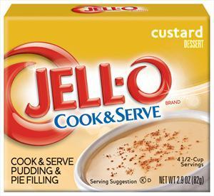 Jell-o Americana Custard Mix