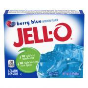 Jell-O Berry Blue Gelatin