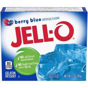 Jell-O Berry Blue Gelatin