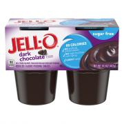 Jell-O Sugar Free Dark Chocolate Flavored Pudding Snacks