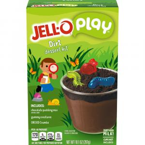 Jell-O Creations Dessert Kit Oreo Dirt Cups