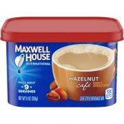 Maxwell House International Cafe Hazelnut Cafe
