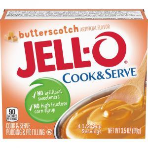 Jell-O Butterscotch Pudding Mix