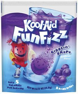 Kool-aid Funfizz Grape Drops