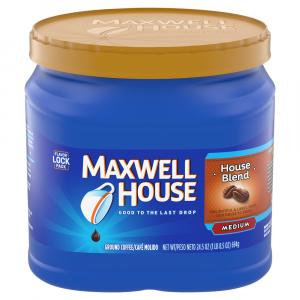 Maxwell House Medium House Blend Can