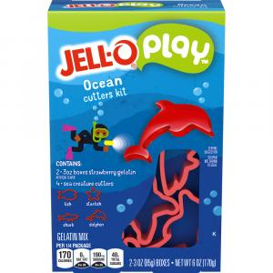 Jell-O Play Ocean Cutters Kit