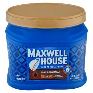 Maxwell House 100% Columbian Medium Can
