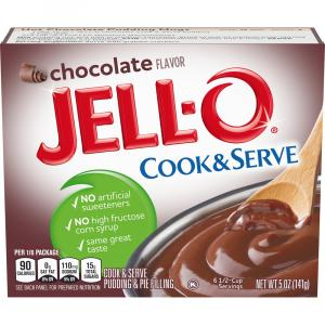 Jell-O Chocolate Pudding Mix