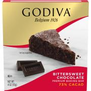 Godiva Bittersweet Chocolate Premium Baking Bar
