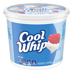 Cool Whip Lite Whipped Topping Value Pack
