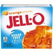 Jell-O Sugar Free Orange Gelatin