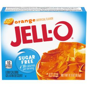 Jell-O Sugar Free Orange Gelatin