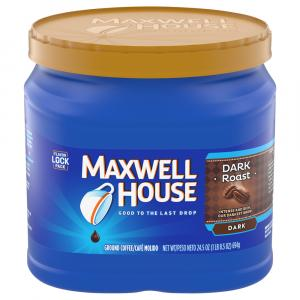 Maxwell House Dark Roast Can