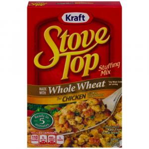 Stove Top Whole Wheat Stuffing Mix For Chicken