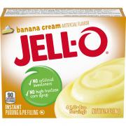 Jell-O Instant Banana Pudding Mix