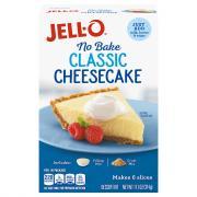 Jell-O No Bake Cheesecake