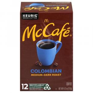 Mccafe Colombian Medium-dark K-cup Pods