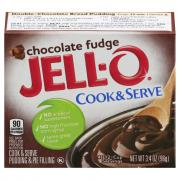 Jell-O Chocolate Fudge Pudding Mix