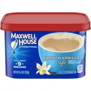 Maxwell House International Cafe French Vanilla Cafe