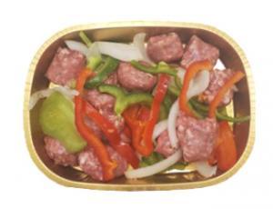 Plain Sausage, Pepper, Onion