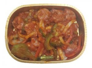 Sausage, Pepper, Onion with Sauce