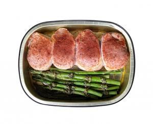 Pork Tenderloin Medallions and Asparagus
