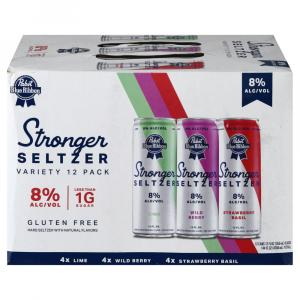 Pabst Blue Ribbon Stronger Seltzer Variety Pack