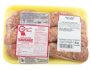 Mailhot's Hot Italian Sausage