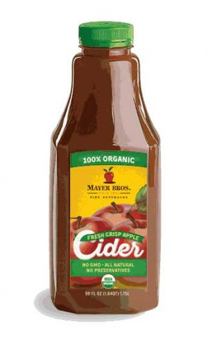 Mayer Bros. 100% Organic Fresh Pressed Apple Cider