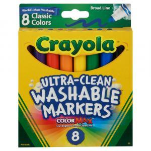 Crayola Washable Broad Classic Markers