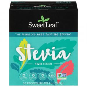 SweetLeaf 100% Natural Stevia Sweetner