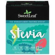 SweetLeaf 100% Natural Stevia Sweetner