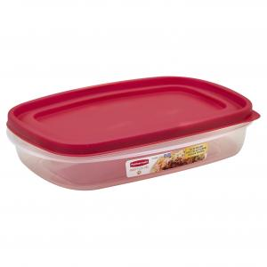Rubbermaid Rectangle With Easy Find Lid 5.5 Cup